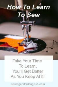 Beginners Guide to sewing 2020