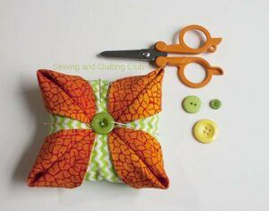 Easy Pincushion tutorial