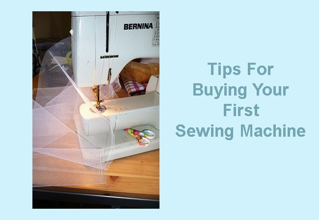 best tips for buying your first sewing machine