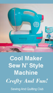 Cool Maker Sew N Style