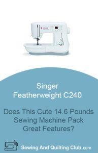 Singer Featherweight C240