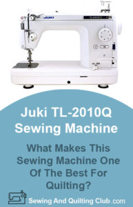 Juki TL-2010Q Sewing Machine Review