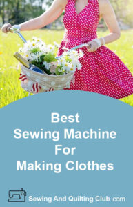 Best Sewing Machines For Making Clothes - Girl With Pink Dress