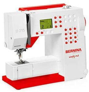 Bernina 215 Simple Red Review - Sewing Machine