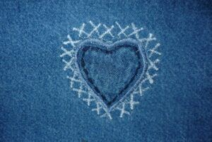 Easy Sewing Projects Teenagers Can Make - Heart Patch