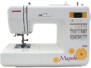 Janome 7330 Magnolia Review - Sewing Machine