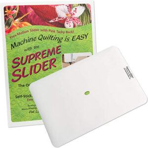 Supreme Slider Free Motion Quilting