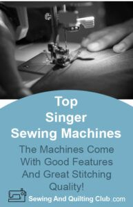 Top Singer Sewing Machines - Sewing