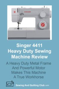 Singer 4411 Heavy Duty Sewing Machine Review - Sewing Machine