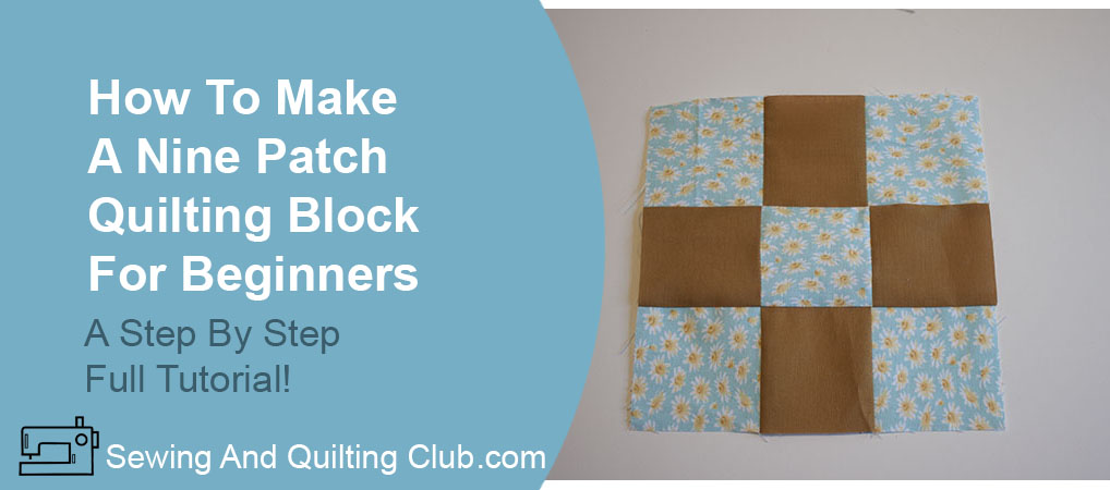 Nine Patch Quilting Block - Nine Patch Block