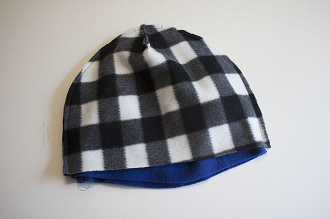 Reversible Fleece Hat To Sew