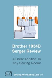 Brother 1034D Serger Review