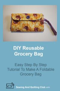 DIY Reusable Grocery Bag