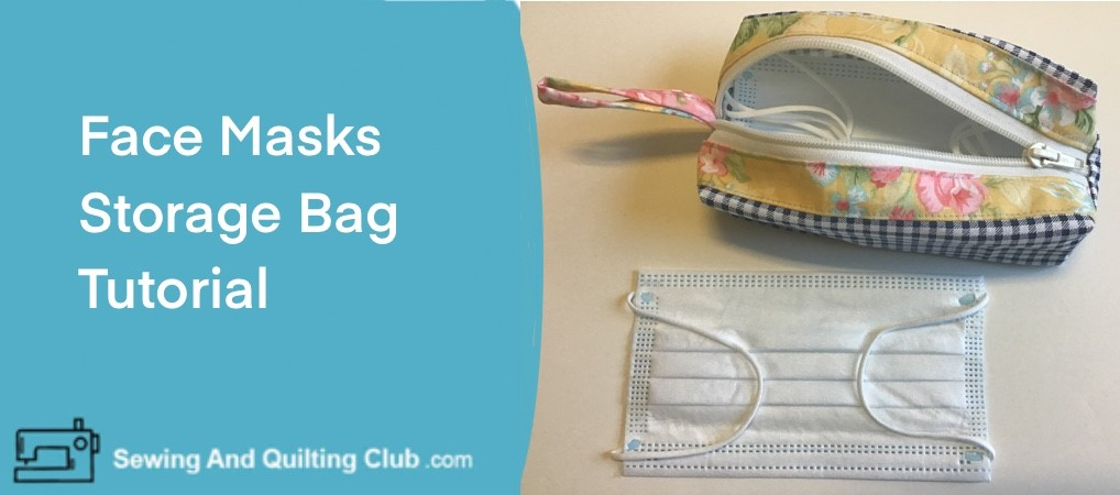 Face Mask Storage Bag