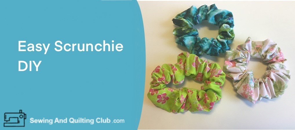 Easy Scrunchie DIY