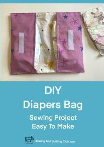 DIY Diapers Bag