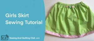 Girls Skirt Sewing Tutorial