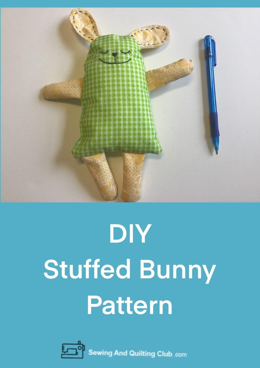 DIY Stuffed Bunny Pattern