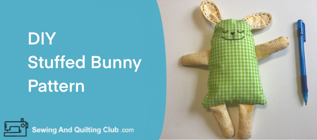 DIY Stuffed Bunny Pattern