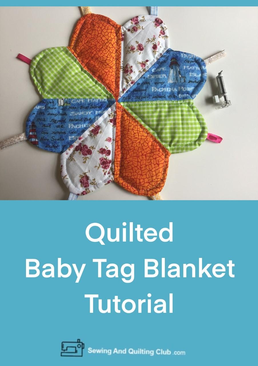 Baby Tag Blanket Tutorial