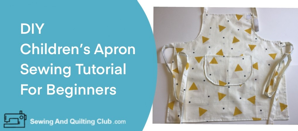 DIY Childrens Apron