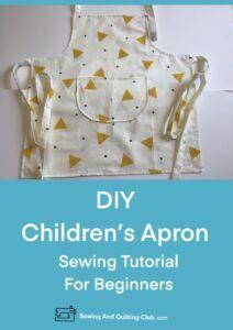 DIY Childrens Apron