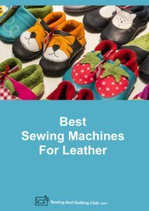 Sewing Machines For Leather