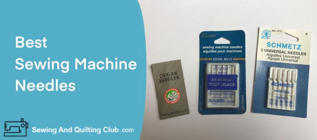 Sewing Machine Needles