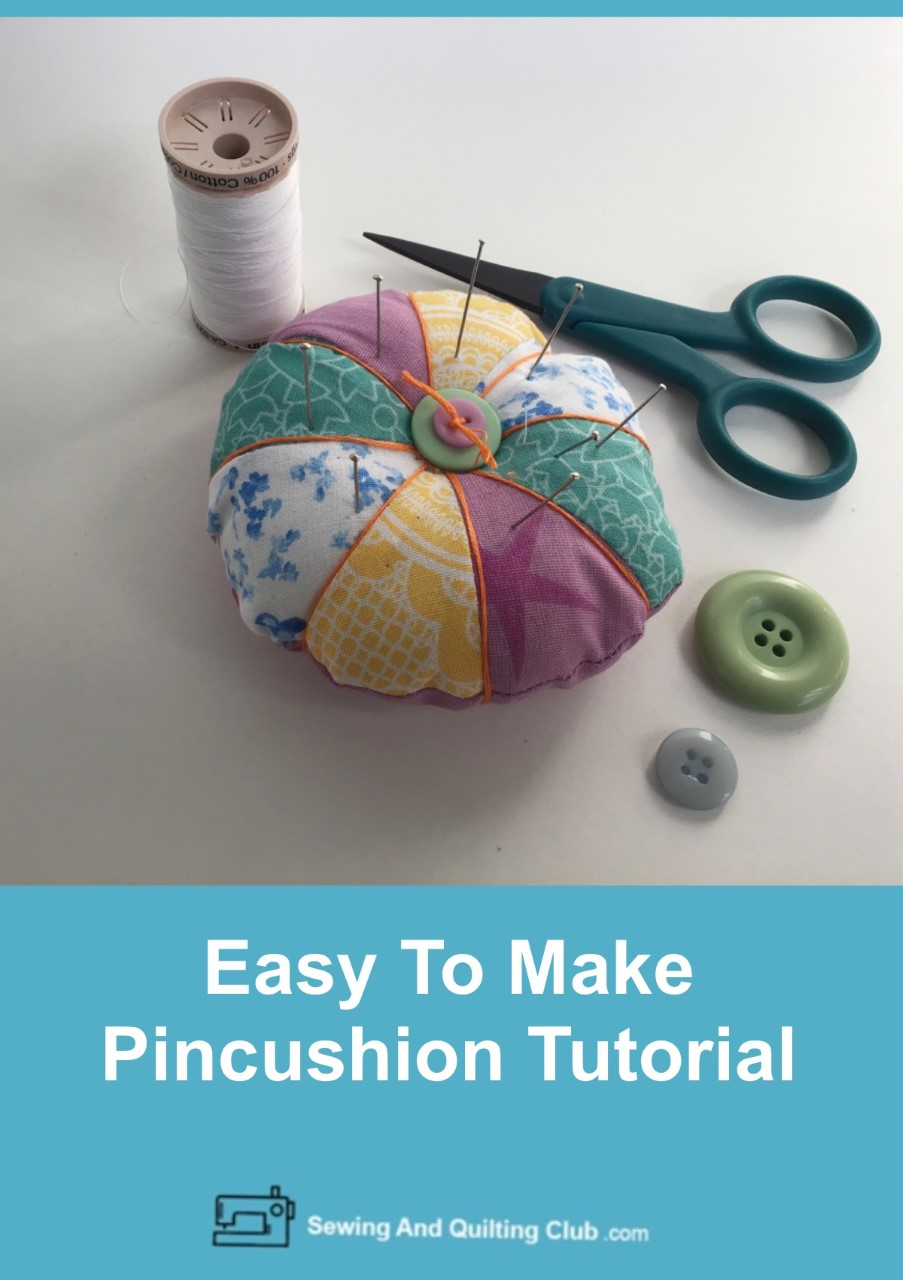 Easy To Make Pincushion Tutorial