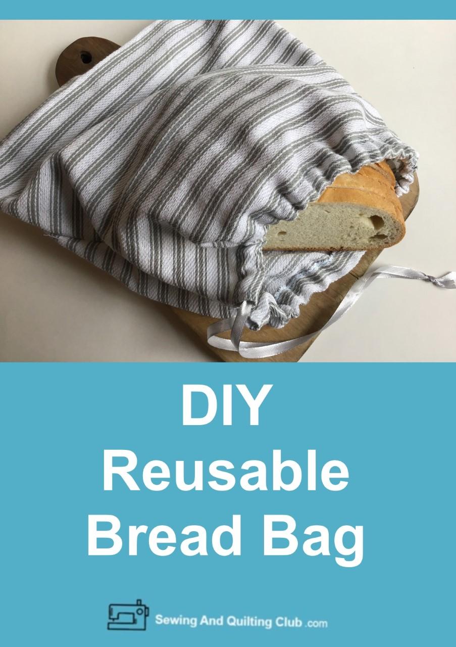 DIY Reusable Bread Bag