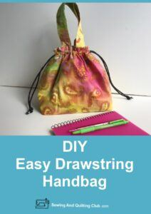 Easy Drawstring Handbag